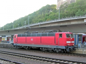 DB | 181 208-0 | Koblenz Hbf | 6.09.2006 | (c) Uli Kutting