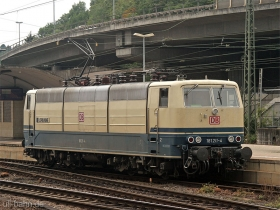 "DB | 181 211-4 | ""Lorraine"" | Koblenz Hbf | 5.08.2007 | (c) Uli Kutting"