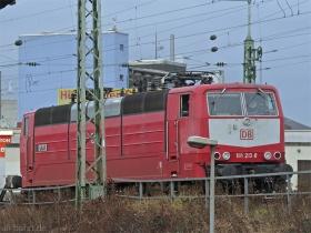 "DB | 181 213-0 | ""Saar"" | Koblenz Hbf | 10.01.2008 | (c) Uli Kutting"