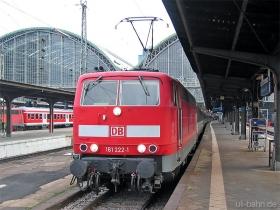 DB | 181 222-1 | Frankfurt Hbf | 25.01.2006 | (c) Uli Kutting