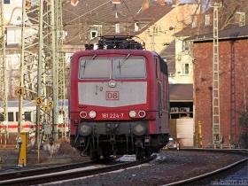 DB | 181 224-7 | Koblenz Hbf | 7.01.2006 | (c) Uli Kutting