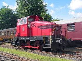 Angelner Dampfeisenbahn   Lok 1   Kappeln   7.08.2005   (c) Uli Kutting