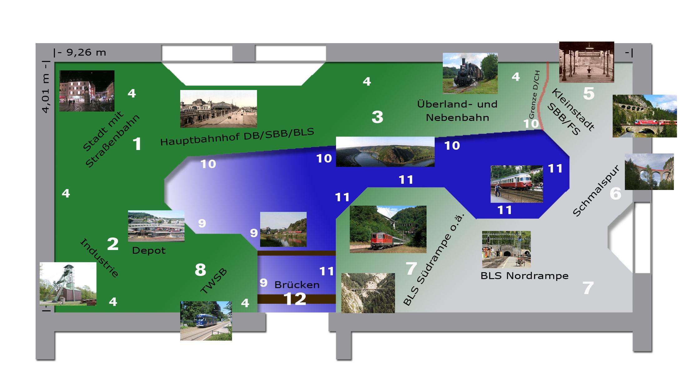 Modellbahn-Konzept