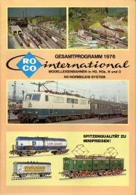 ROCO | 1976 | N, Hoe, H0, 0 | 52 Seiten | (c) ROCO