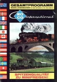 ROCO | 1978 | N, H0e, H0, 0 | 52 Seiten | (c) ROCO