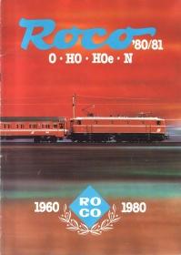 ROCO | 1980 / 1981 | N, Hoe, H0, 0 | 84 Seiten | (c) ROCO