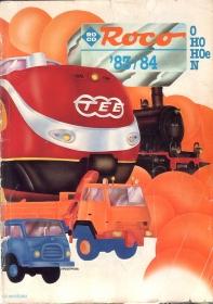 ROCO | 1983 / 1984 | N, H0e, H0, 0 | 196 Seiten | (c) ROCO