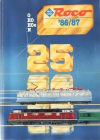 ROCO | 1986 / 1987 | N, H0e, H0, 0 | 196 Seiten | (c) ROCO