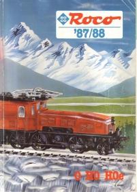 ROCO | 1987 / 1988 | H0e, H0, 0 | 196 Seiten | (c) ROCO