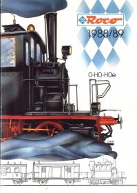 ROCO | 1988 / 1989 | H0e, H0, 0 | 188 Seiten | (c) ROCO