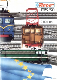 ROCO | 1989 / 1990 | H0e, H0, 0 | 196 Seiten | (c) ROCO