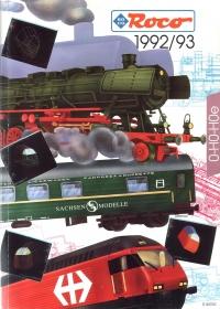 ROCO | inkl. Sachsen Modelle | 1992 / 1993 | H0e, H0, 0 | 220 Seiten | (c) ROCO