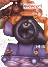 ROCO | inkl. Sachsen Modelle | 1993 / 1994 | Hoe, H0, 0 | 236 Seiten | (c) ROCO