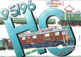 ROCO | inkl. Sachsen Modelle | 1995 / 1996 | H0e, H0, 0m, 0 | 292 Seiten | (c) ROCO