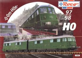 ROCO | 1997 / 1998 | H0e, H0, 0m, 0 | 272 Seiten | (c) ROCO