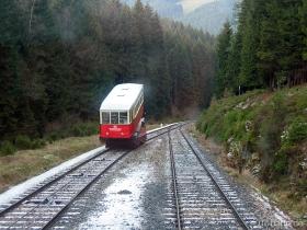 Oberweißbacher Bergbahn | Bergbahn | Güterbühne und Aufsatzwagen | Ausweiche | 30.12.2006 | (c) Uli Kutting