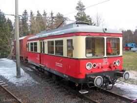 Oberweißbacher Bergbahn | Flachstrecke | 479 201-6 | Lichtenhain | 30.12.2006 | (c) Uli Kutting