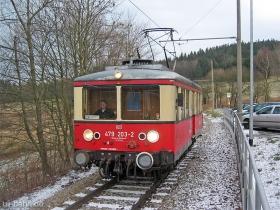 Oberweißbacher Bergbahn | Flachstrecke | 479 203-2 | Cursdorf | 30.12.2006 | (c) Uli Kutting