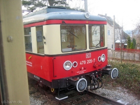 Oberweißbacher Bergbahn | Flachstrecke | 479 205-7 | Lichtenhain | 30.12.2006 | (c) Uli Kutting