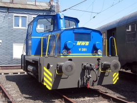 "MWB | O&K Typ MB280N | V281 ""Emma"" | Südwestfälisches Eisenbahnmuseum Siegen | 12.08.2007 | (c) Uli Kutting"