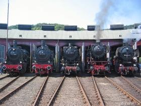 Lineup am Lokschuppen | 12.08.2007 | Südwestfälisches Eisenbahnmuseum Siegen