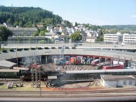 Lokschuppen-Totale | 12.08.2007 | Südwestfälisches Eisenbahnmuseum Siegen