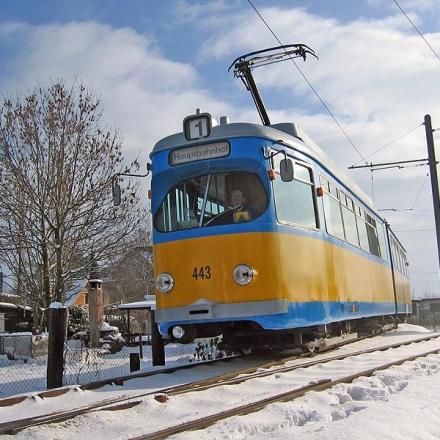 TWSB | Tw 443 | Sundhausen | 29.01.2005 | U. Kutting