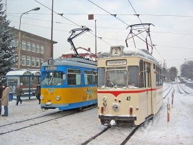 TWSB | Tw 047 | Tw 412 | Hauptbahnhof | 29.01.2005 | U. Kutting