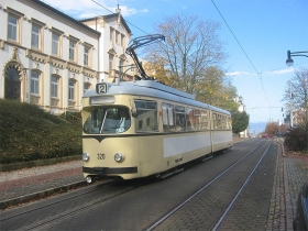 TWSB | Tw 320 | Bahnhofstraße | 5.11.2005 | U. Kutting