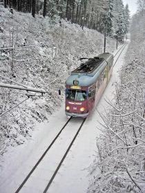 TWSB | Tw 396 | Russenbrücke | 27.12.2004 | U. Kutting