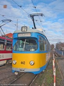 TWSB | Tw 442 | Hauptbahnhof | 15.01.2005 | U. Kutting