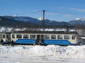 Zugspitzbahn | Beh 4/4 309 | Hst. Kreuzeck / Alpspitzbahn | 8.02.2005 | (c) Uli Kutting